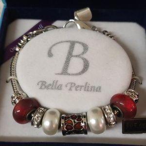 BNWT Bella Perlina Charm Bracelet
